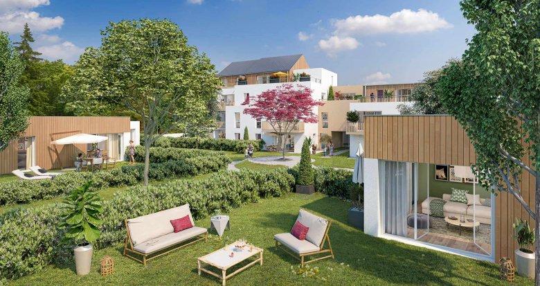 Achat / Vente appartement neuf Nantes au coeur du quartier Contrie (44000) - Réf. 5295