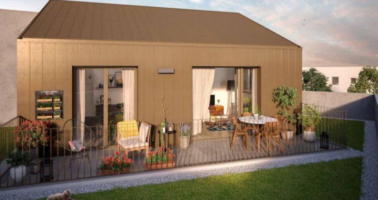 Achat / Vente appartement neuf Nantes au cœur du quartier de l'Ile de Nantes (44000) - Réf. 3245