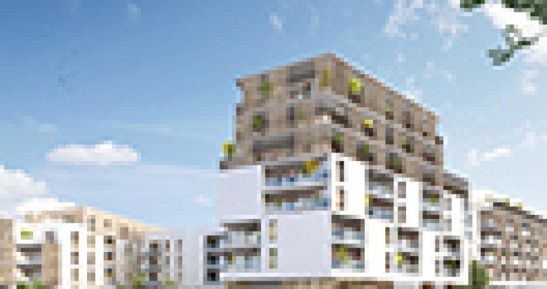 Achat / Vente appartement neuf Nantes au cœur du quartier de la Perverie (44000) - Réf. 4027