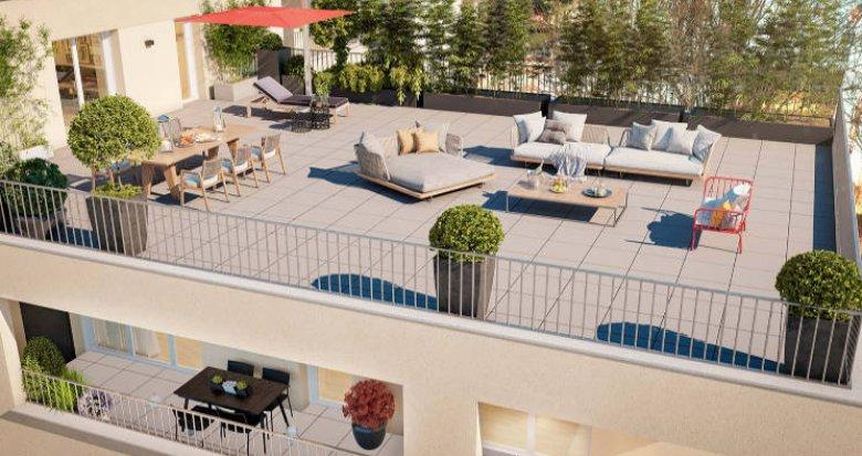 Achat / Vente appartement neuf Nantes au cœur du quartier du Rond-point de Paris (44000) - Réf. 5884