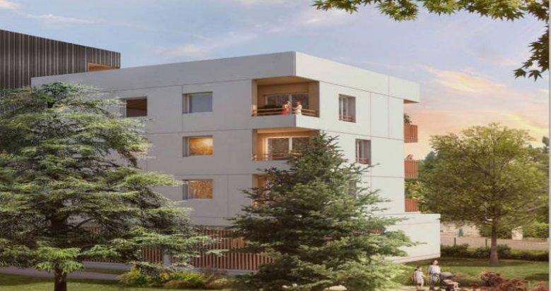 Achat / Vente appartement neuf Nantes au cœur d'un environnement verdoyant (44000) - Réf. 4836