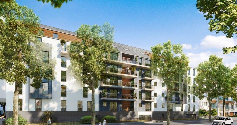Achat / Vente appartement neuf Nantes aux portes du parc de Procé (44000) - Réf. 277