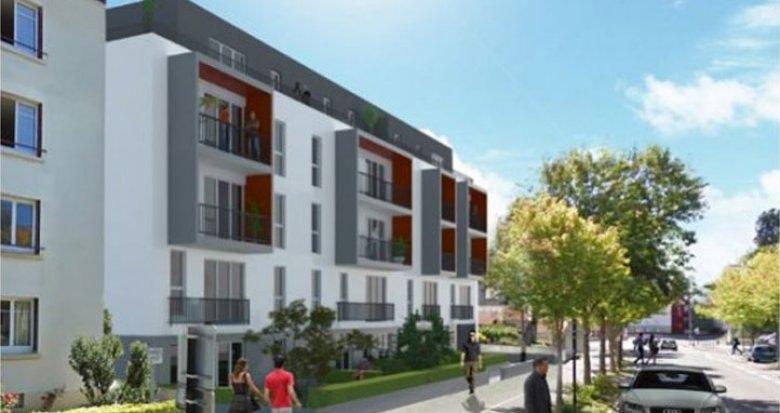 Achat / Vente appartement neuf Nantes bord des rives de l'Erdre (44000) - Réf. 895