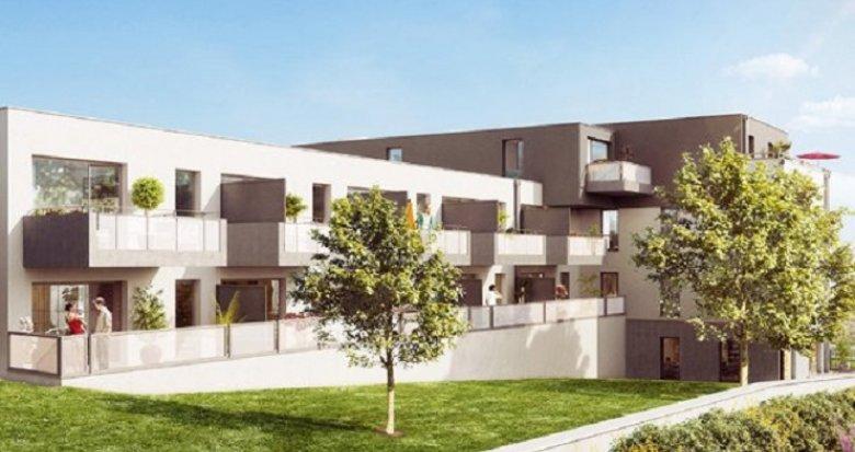 Achat / Vente appartement neuf Nantes bords de l'Edre calme et verdure (44000) - Réf. 3484
