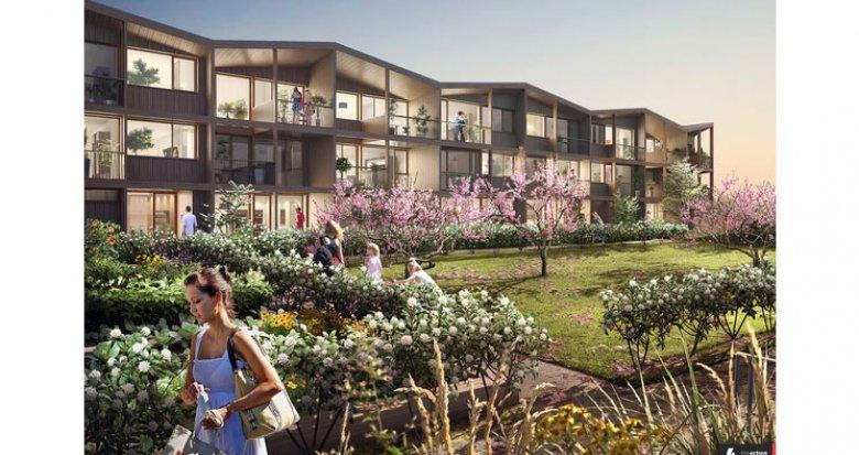 Achat / Vente appartement neuf Nantes Eco-Quartier Erdre-Poterie (44000) - Réf. 1168