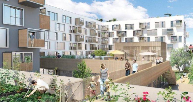 Achat / Vente appartement neuf Nantes écoquartier Prairie au Duc (44000) - Réf. 1571