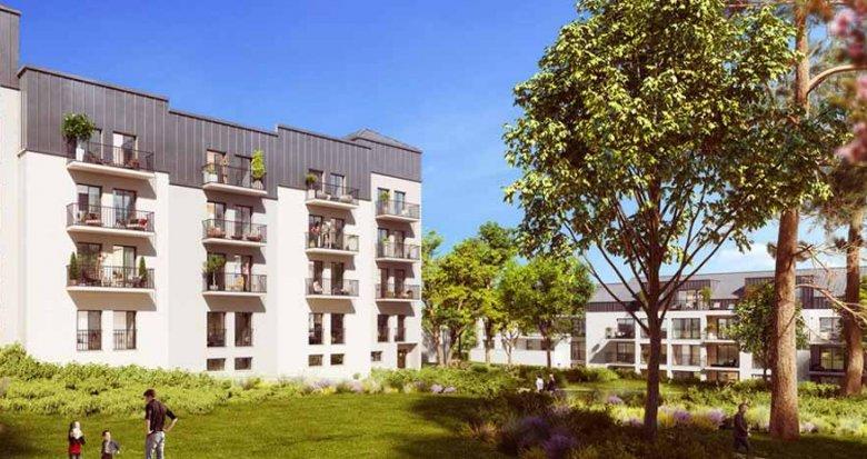 Achat / Vente appartement neuf Nantes en centre-ville (44000) - Réf. 2451