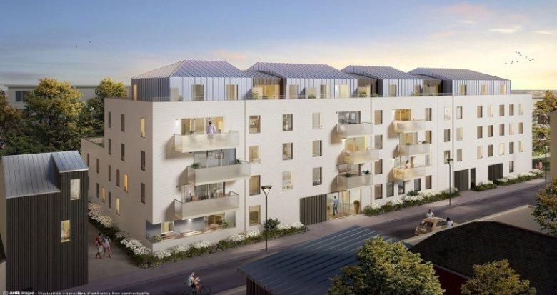 Achat / Vente appartement neuf Nantes entre Monsolet et Viarme (44000) - Réf. 5359