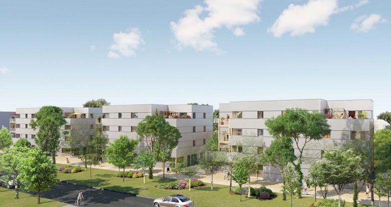 Achat / Vente appartement neuf Nantes Erdre Porterie (44000) - Réf. 2215