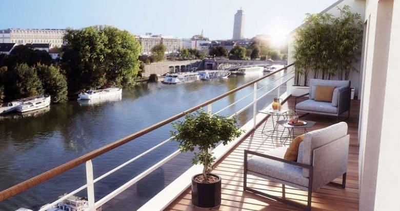 Achat / Vente appartement neuf Nantes face à l'Erdre (44000) - Réf. 1173