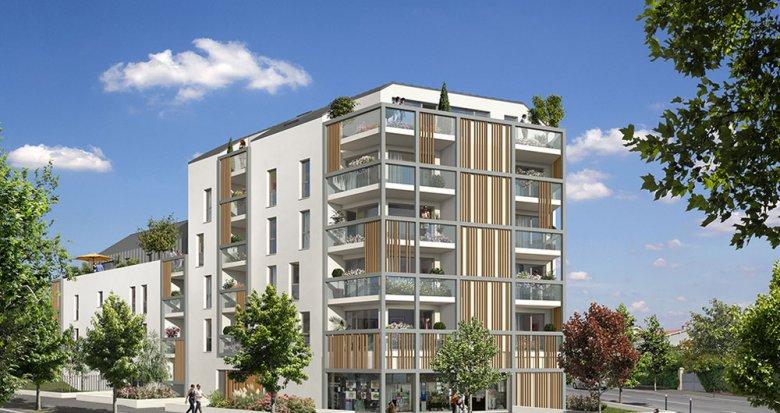Achat / Vente appartement neuf Nantes face au Parc de Procé (44000) - Réf. 2066