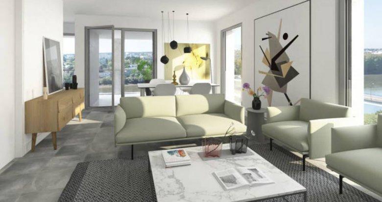Achat / Vente appartement neuf Nantes île Beaulieu proche commerces (44000) - Réf. 4631