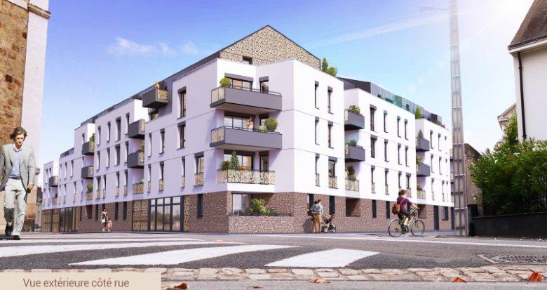 Achat / Vente appartement neuf Nantes nouveau quartier Canclaux (44000) - Réf. 3487
