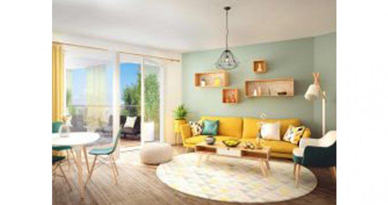 Achat / Vente appartement neuf Nantes proche carrefour la Beaujoire (44000) - Réf. 2592