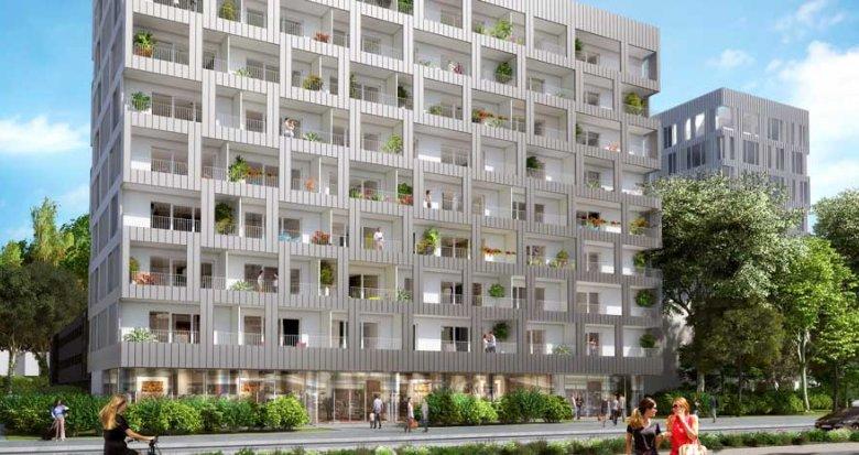 Achat / Vente appartement neuf Nantes proche centre commercial Beaulieu (44000) - Réf. 2102