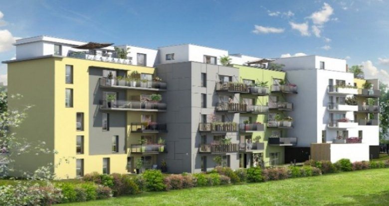 Achat / Vente appartement neuf Nantes proche de l'Université (44000) - Réf. 1164