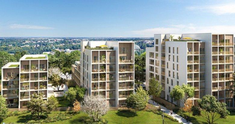 Achat / Vente appartement neuf Nantes proche de la Roseraie (44000) - Réf. 6171