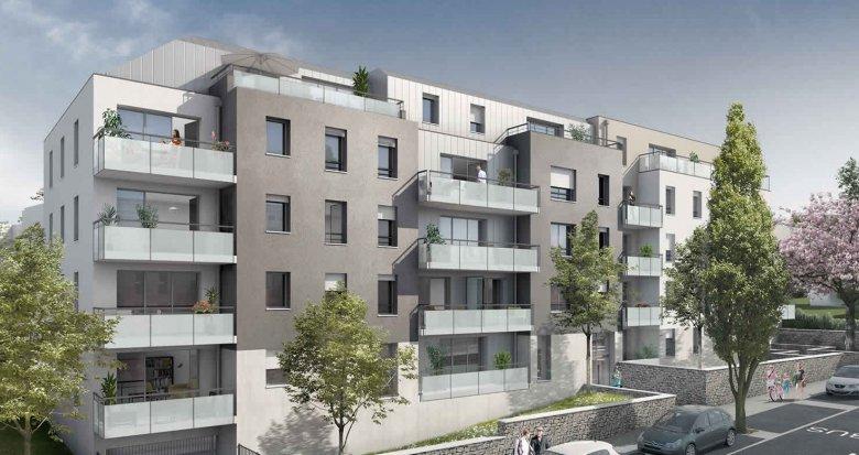 Achat / Vente appartement neuf Nantes proche du Parc de la Gaudinière (44000) - Réf. 286