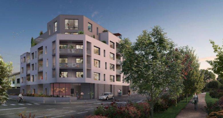 Achat / Vente appartement neuf Nantes proche du parc de Procé (44000) - Réf. 5846