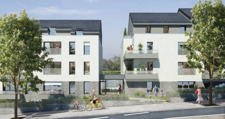 Achat / Vente appartement neuf Nantes proche du parc de Procé (44000) - Réf. 3489