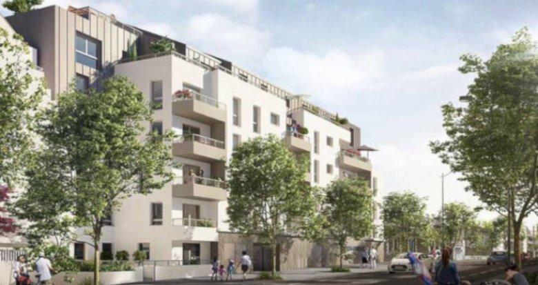 Achat / Vente appartement neuf Nantes proche du Parc du Procé (44000) - Réf. 3421