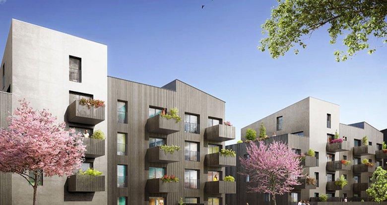 Achat / Vente appartement neuf Nantes proche du Parc floral de la Roseraie (44000) - Réf. 2058