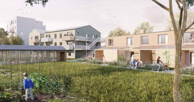 Achat / Vente appartement neuf Nantes proche Erdre dans un quartier calme (44000) - Réf. 4065