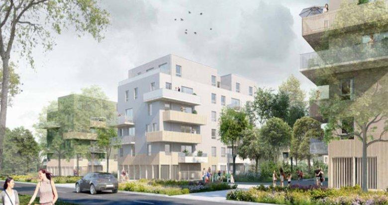 Achat / Vente appartement neuf Nantes proche parc de la Chantrerie (44000) - Réf. 3202