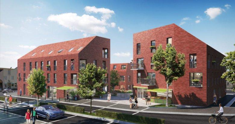 Achat / Vente appartement neuf Nantes proche parc de la roseraie (44000) - Réf. 2216
