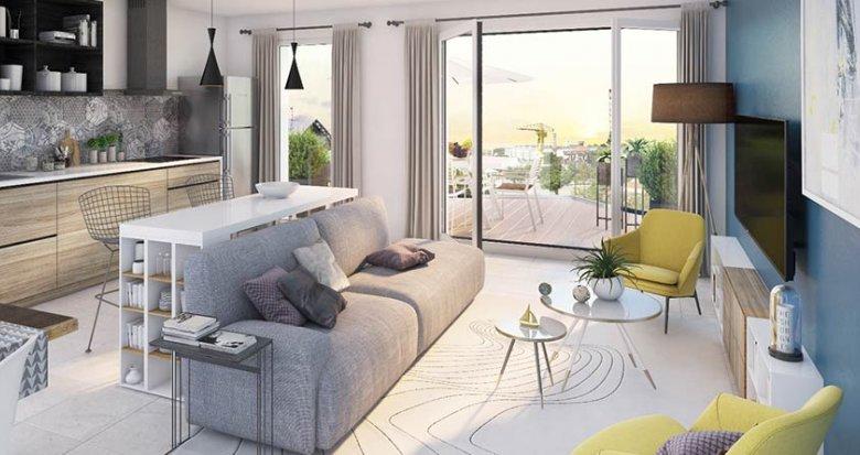 Achat / Vente appartement neuf Nantes proche parc des Chantiers (44000) - Réf. 1212