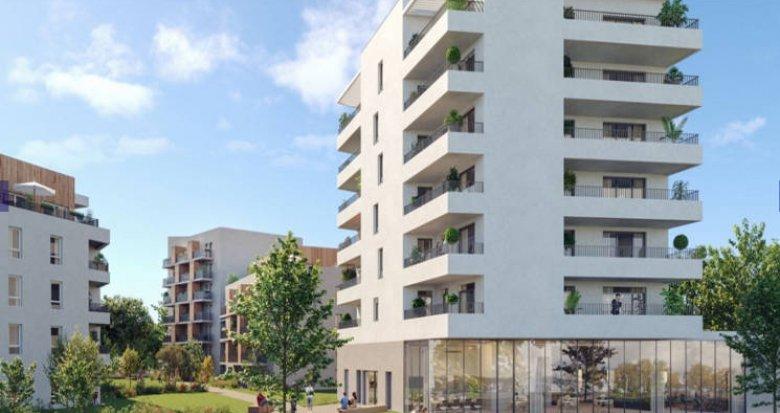 Achat / Vente appartement neuf Nantes proche quartier Erdre-Porterie (44000) - Réf. 3231