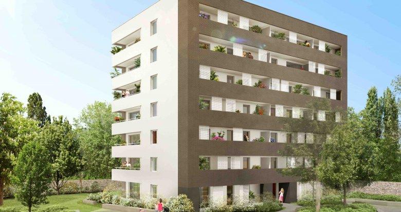 Achat / Vente appartement neuf Nantes proche Sèvre Nantaise (44000) - Réf. 254