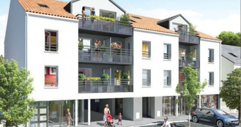 Achat / Vente appartement neuf Nantes proche Tharon-Plage (44000) - Réf. 507
