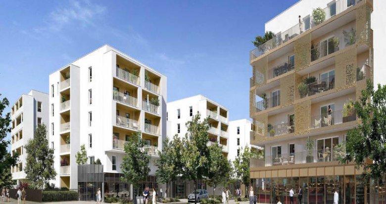 Achat / Vente appartement neuf Nantes proximité parc de Beaujoire (44000) - Réf. 5462