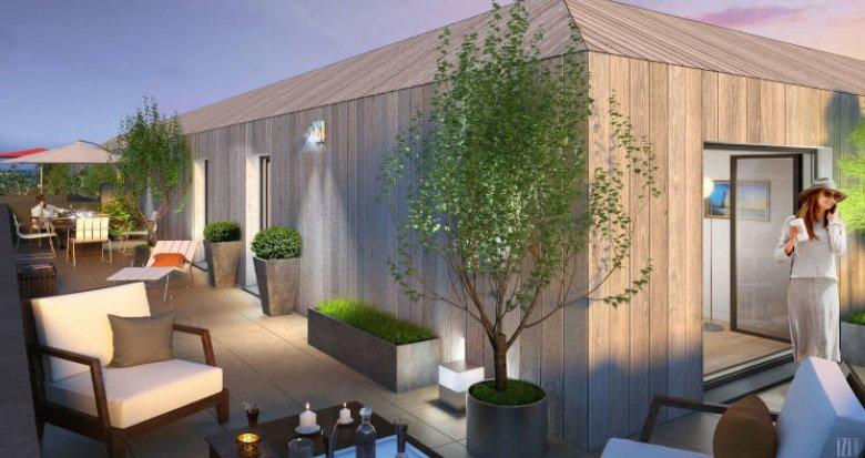 Achat / Vente appartement neuf Nantes quartier Bottière proche commerces et transports (44000) - Réf. 4259