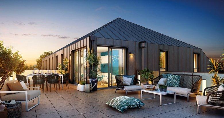 Achat / Vente appartement neuf Nantes quartier Canclaux-Procé (44000) - Réf. 2101