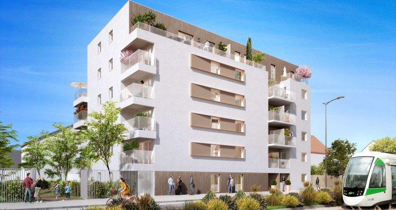 Achat / Vente appartement neuf Nantes quartier Croix Bonneau (44000) - Réf. 790