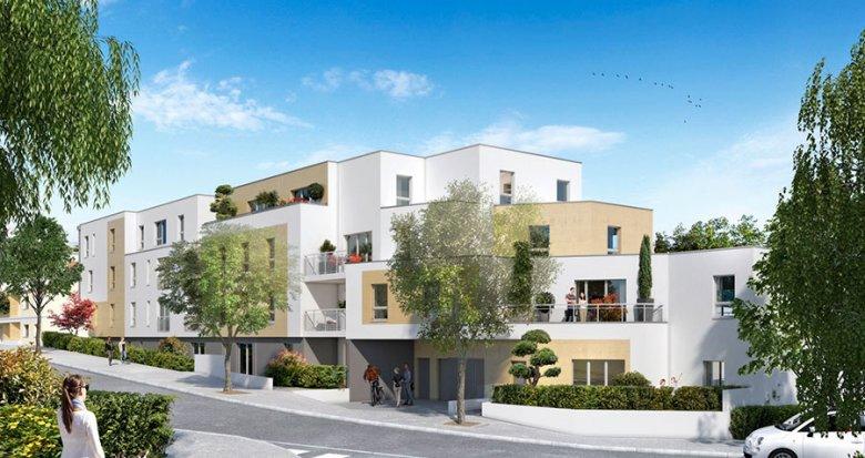 Achat / Vente appartement neuf Nantes quartier de l'Éraudière (44000) - Réf. 1507