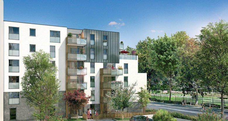 Achat / Vente appartement neuf Nantes quartier de l'hippodrome (44000) - Réf. 339