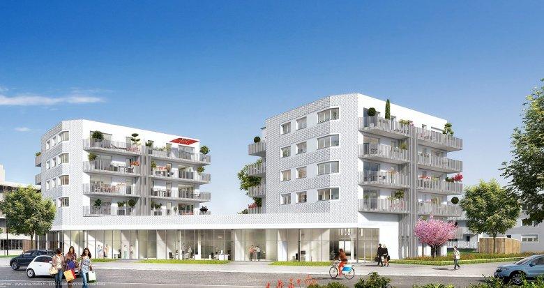 Achat / Vente appartement neuf Nantes quartier de La Beaujoire (44000) - Réf. 209