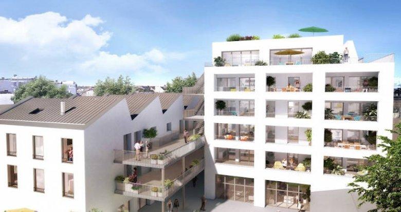 Achat / Vente appartement neuf Nantes quartier de la Création (44000) - Réf. 3924