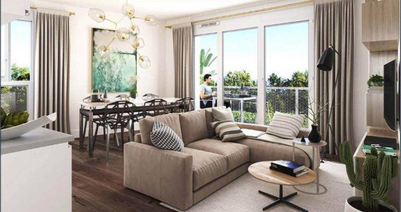 Achat / Vente appartement neuf Nantes quartier de la Gaudinière proche commodités (44000) - Réf. 5266