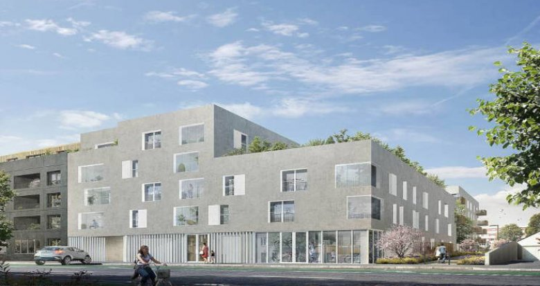 Achat / Vente appartement neuf Nantes quartier Doulon-Bottière (44000) - Réf. 5648