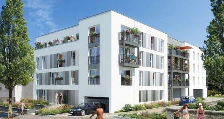 Achat / Vente appartement neuf Nantes quartier du pont du Cens (44000) - Réf. 1001