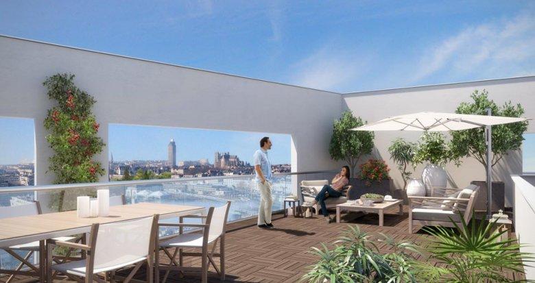 Achat / Vente appartement neuf Nantes quartier Euronantes (44000) - Réf. 1042