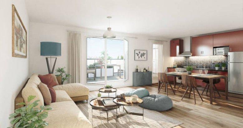 Achat / Vente appartement neuf Nantes quartier Gaudinière (44000) - Réf. 3861