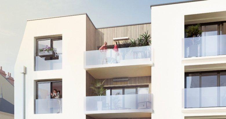 Achat / Vente appartement neuf Nantes quartier Guist'hau (44000) - Réf. 2105