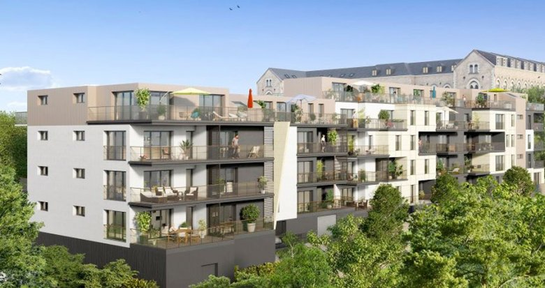 Achat / Vente appartement neuf Nantes quartier Guist'hau (44000) - Réf. 1525