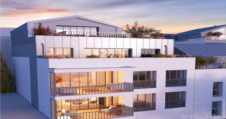 Achat / Vente appartement neuf Nantes quartier Hauts Pavés (44000) - Réf. 5826