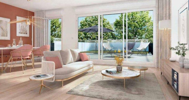 Achat / Vente appartement neuf Nantes quartier hauts pavés (44000) - Réf. 4539